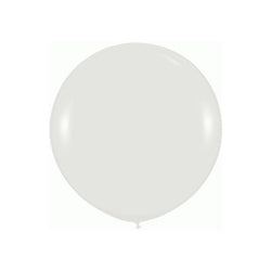 "Giant round 36"" Balloon Clear  Giant Round Latex Balloon Hello Party - All you need to make your party perfect! - Hello Party"