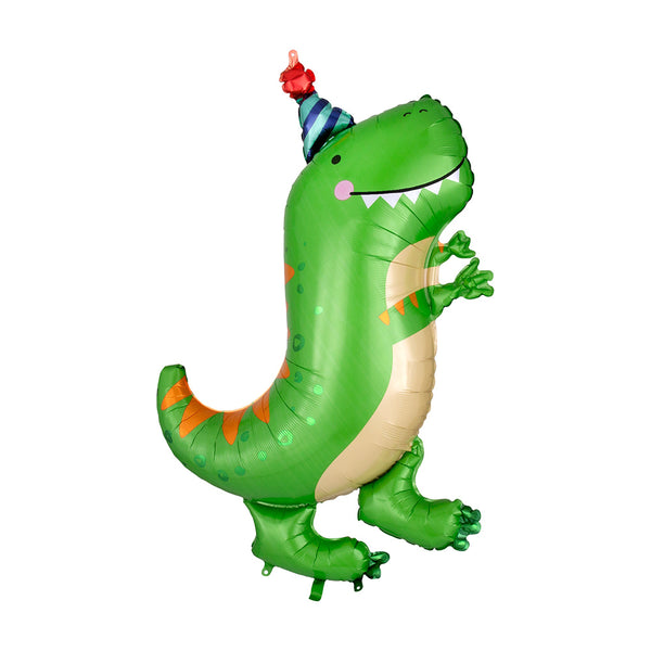 Party Dinosaur Foil Balloon