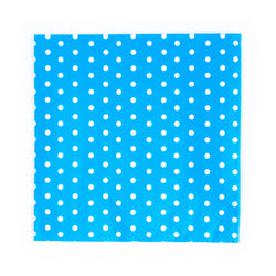 Blue Dotty Napkins  Napkins Neviti - Hello Party