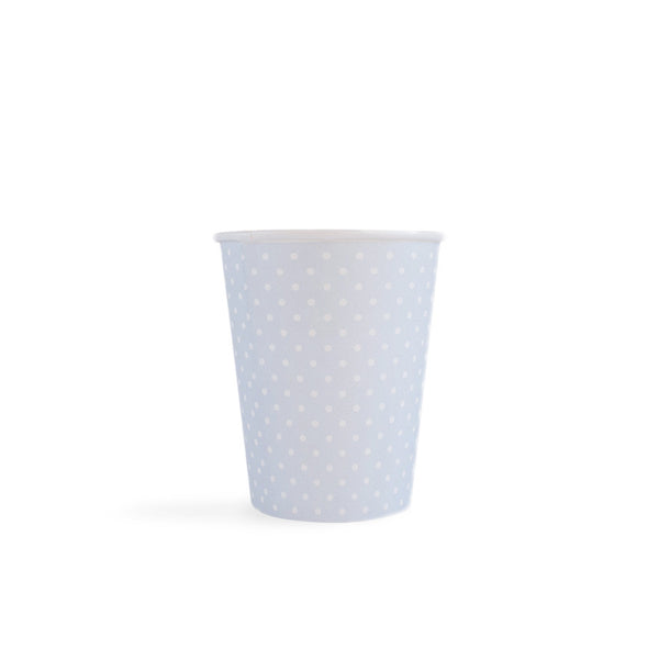 Polka Dot - Cups Blue 8  Party Cups Neviti - Hello Party