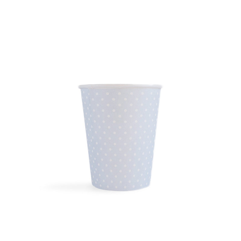 Polka Dot - Cups Blue 8