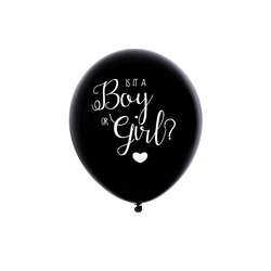 Is it a boy or a girl Gender Reveal Balloon - Girl