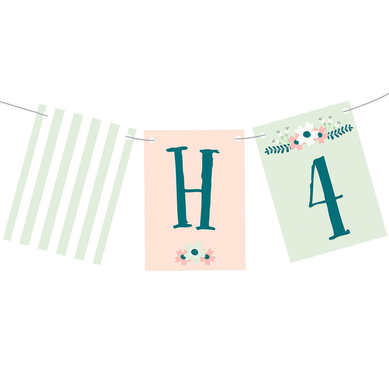 Vintage Blooms : Classic Bunting