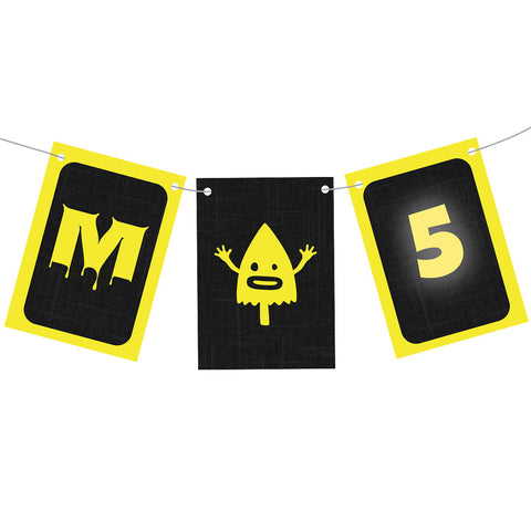 Monster Birthday Bunting