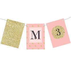 All That Glitters Bunting  Personalisable Bunting Hello Party - All you need to make your party perfect! - Hello Party