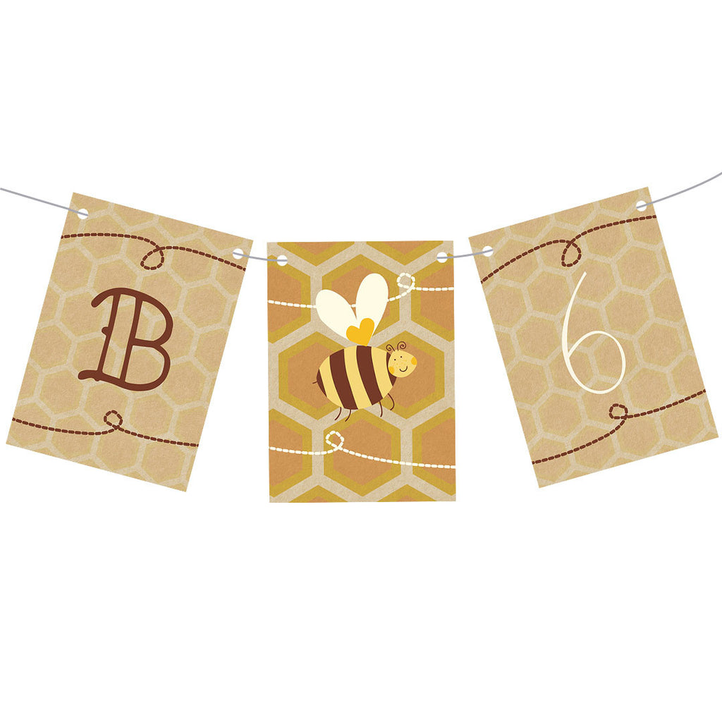 Hap-bee Birthday Bunting