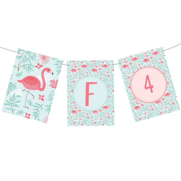 Pretty Flamingo Bunting