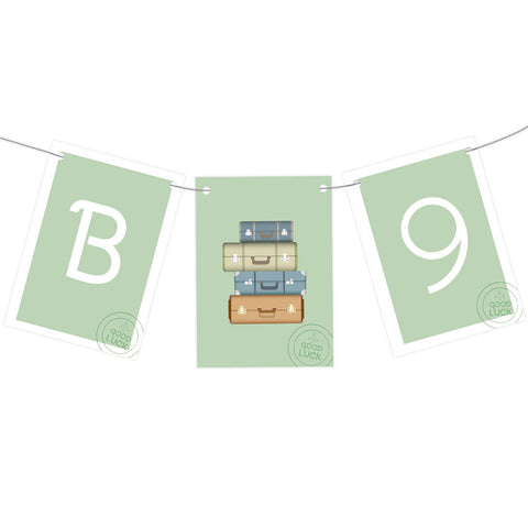 Pack Your Bags Bunting