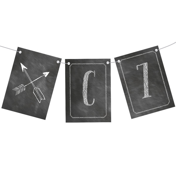 Cheeky Chalk Bunting  Personalisable Bunting Hello Party - All you need to make your party perfect!  - Hello Party