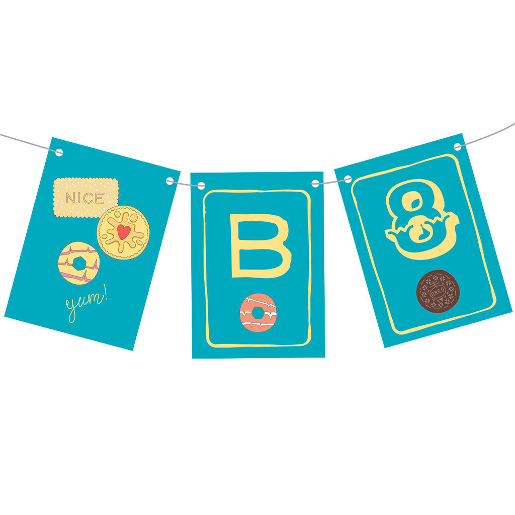 Birthday Biscuits Bunting