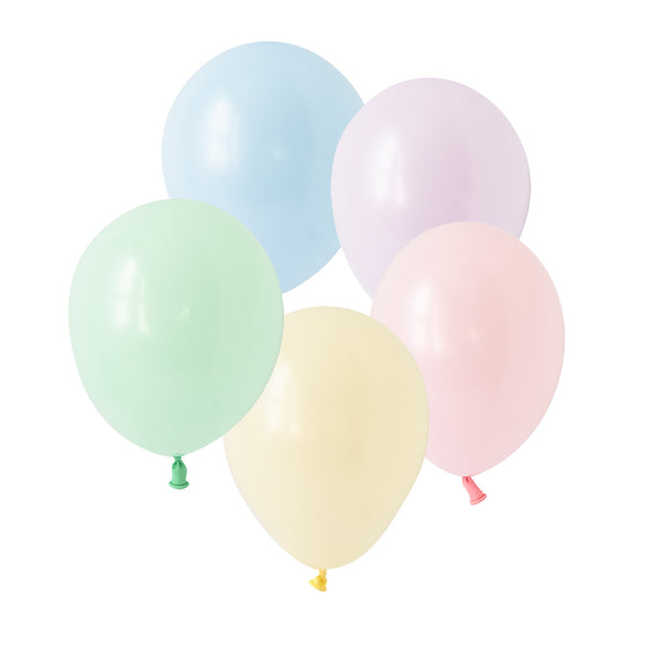 Chalky Pastel Balloon Mix (pack of 10)  Latex Balloon Collections Hello Party Essentials - Hello Party