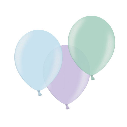 Pearl Jewel Mix Balloons (pack of 12)  Latex Balloon Collections Hello Party Essentials - Hello Party