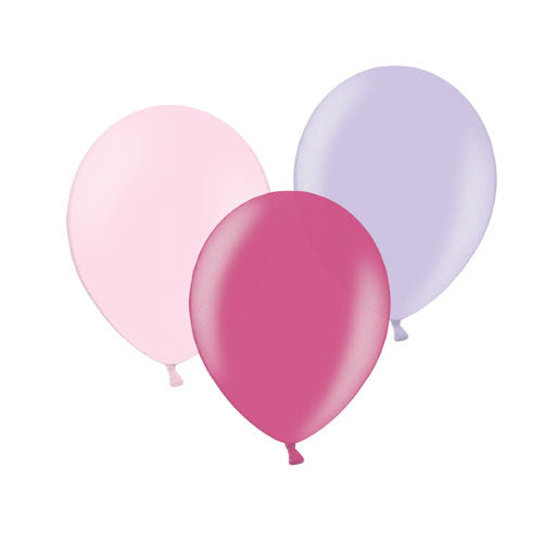 Pretty Princess Mix Balloons (pack of 12)  Latex Balloon Collections Hello Party Essentials - Hello Party