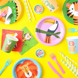 Colourful Creatures Cocktail Napkins  Napkins Rex International - Hello Party