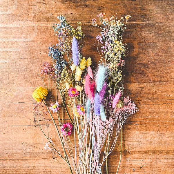 dried flowers by post A Happy Bunch by Hello Party