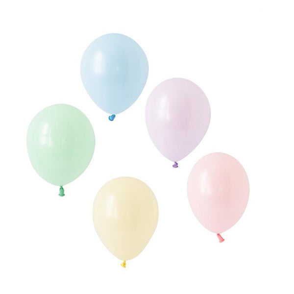 Pastel Perfection Balloons Hooray Party Display Contents Pack
