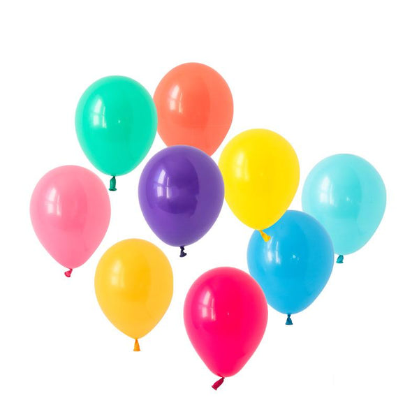 Brilliant Brights Balloons Hooray Party Display Contents Pack  Fillable Cake Stand Content Packs Hello Party - Hello Party
