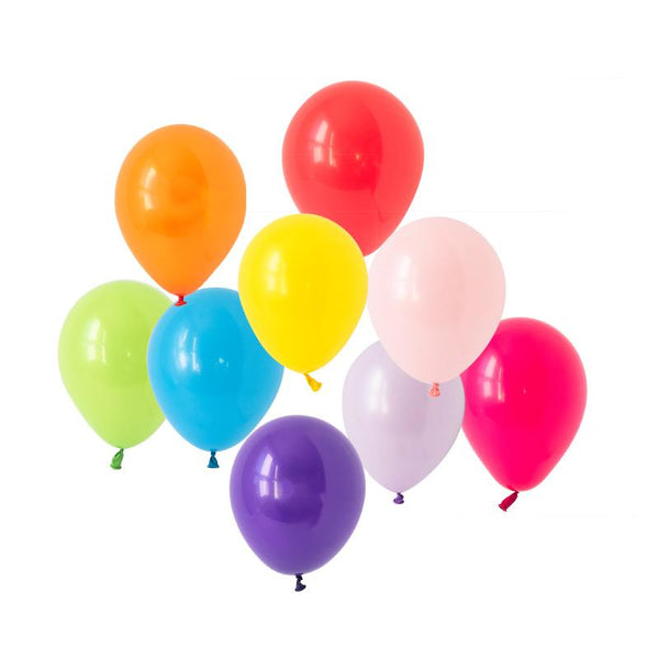 Rainbow Bright Balloons Hooray Party Display Contents Pack  Fillable Cake Stand Content Packs Hello Party - Hello Party