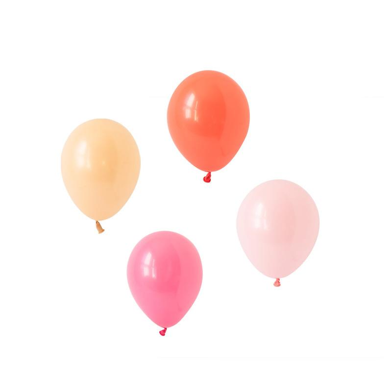 Coral Charm Balloons Hooray Party Display Contents Pack  Fillable Cake Stand Content Packs Hello Party - Hello Party