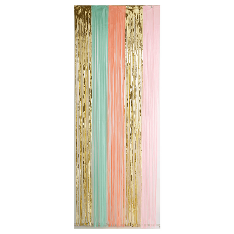 Pretty Pastels Door Curtain