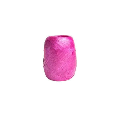 Matt Fuchsia Curling Ribbon 20m