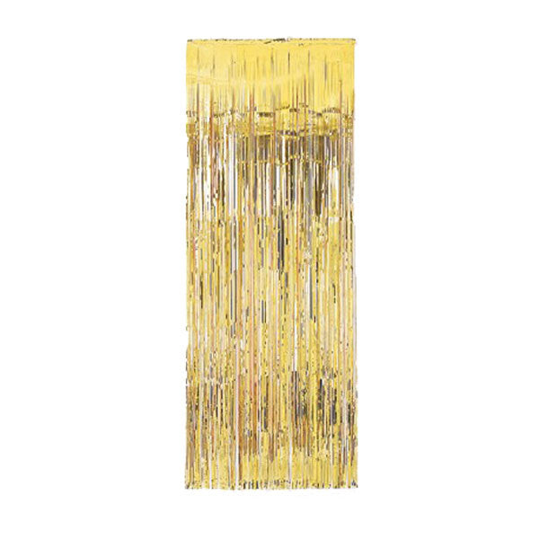 Gold Metallic Door Curtain  Party Curtain Hello Party - All you need to make your party perfect!  - Hello Party