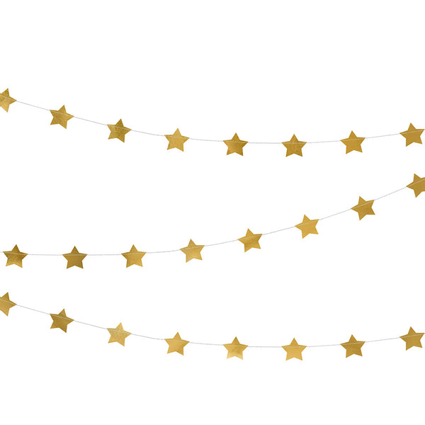 Shiny Star Garland