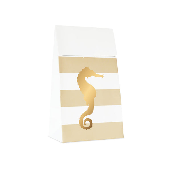 10 Preppy Seahorse Treat Bags  Party Bags Delight Department - Hello Party