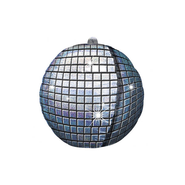 Holographic Disco Ball UltraShape Foil Balloon  Balloons Hello Party - Hello Party