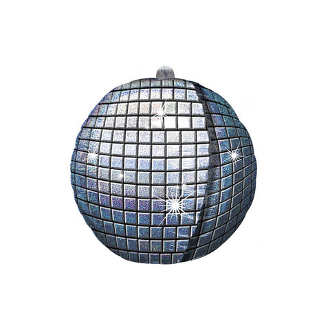 Holographic Disco Ball UltraShape Foil Balloon