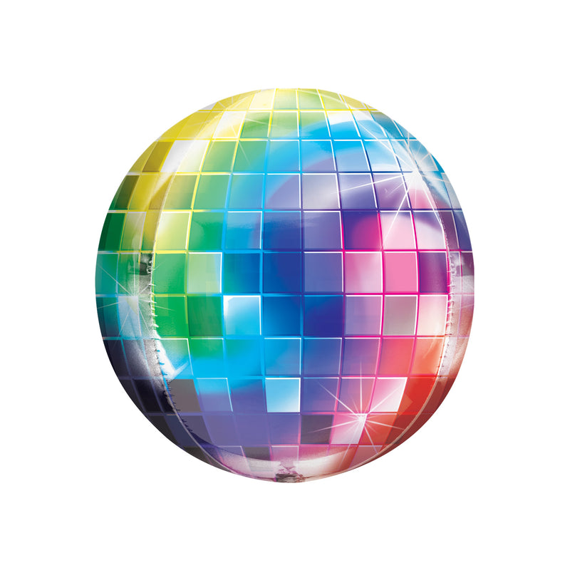 Disco Ball Orbz Balloon  Balloons Anagram - Hello Party