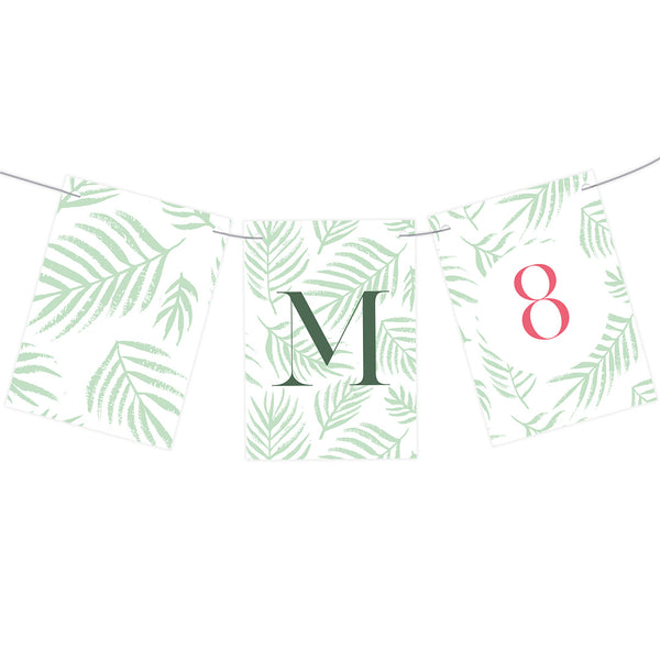 Fabulous Ferns Bunting  Personalisable Bunting Hello Party - All you need to make your party perfect! - Hello Party