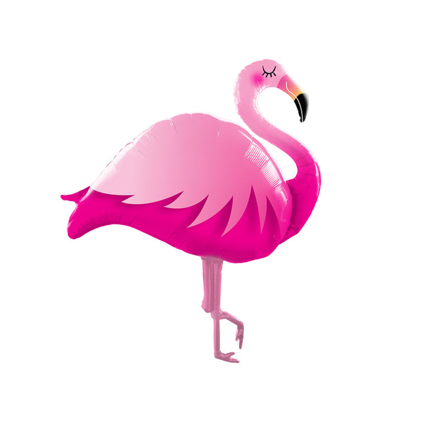 "Stylish Giant Flamingo Foil Balloon (46"")"