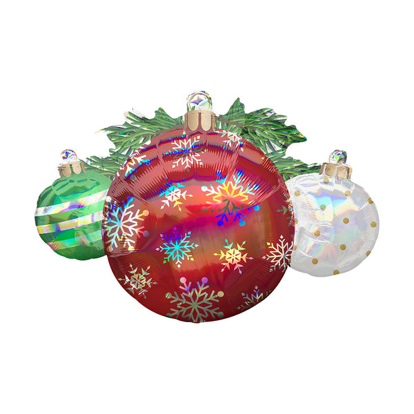 Christmas Ornaments Supershape Foil Party Balloon