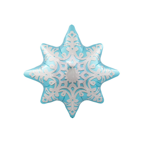 "Large Snowflake Foil Balloon 24""  Balloons Hello Party - All you need to make your party perfect!  - Hello Party"