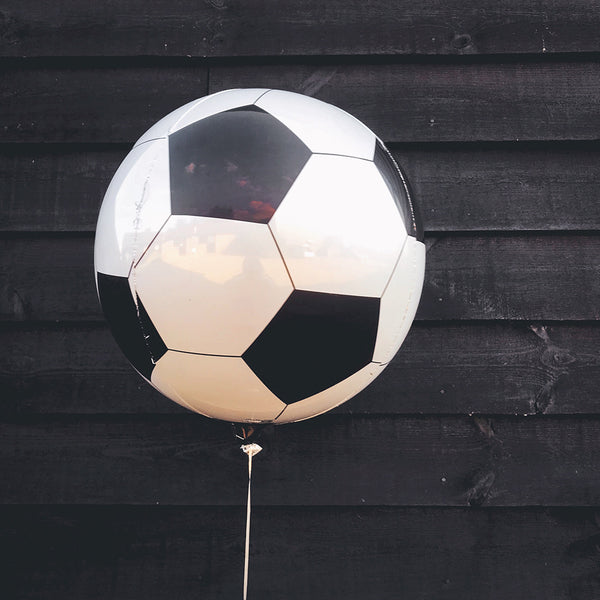 "Football Orbz Birthday Party Balloon (16"")"