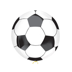 Football Orbz Balloon  orb balloon amscan - Hello Party