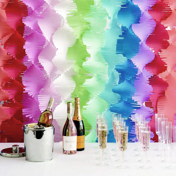 Crepe Fringe Garlands  Garland Hello Party - Hello Party