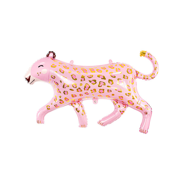 Pink Leopard Foil Balloon | Supershape Party Balloon | Stylish Party Decor