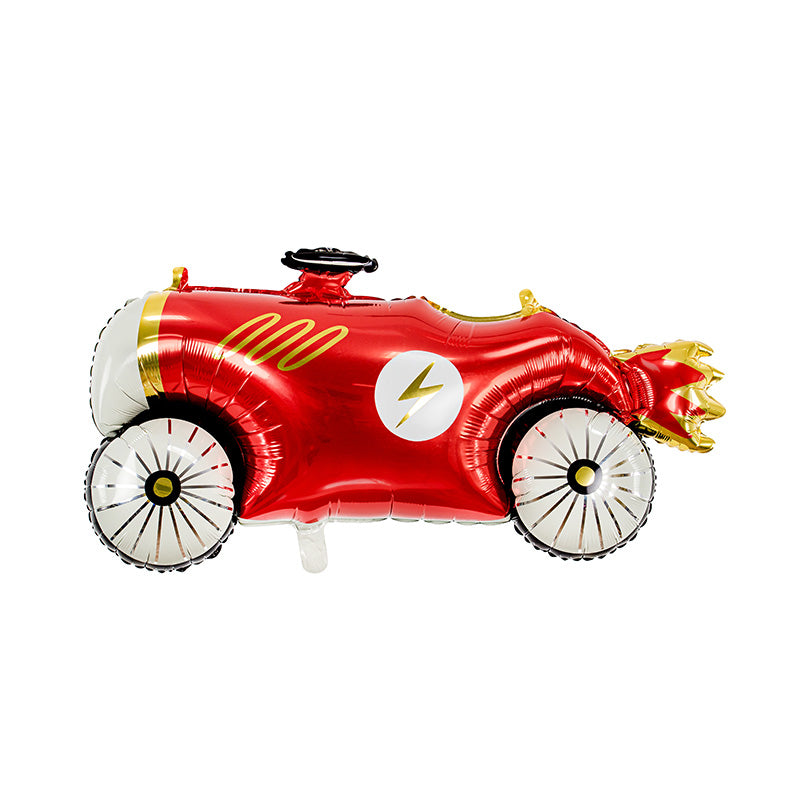 Retro Racing Car Foil Balloon