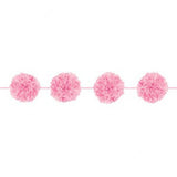 Light Pink Pom Pom Garland