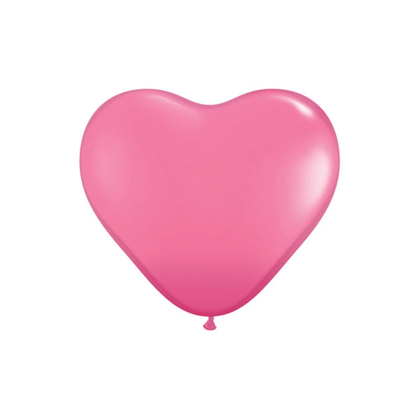 Giant Rose Heart Balloons 3ft