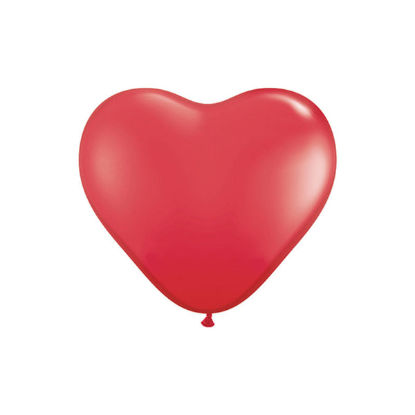 Giant Red Heart Balloons 3ft  Giant Round Latex Balloon Hello Party Essentials - Hello Party