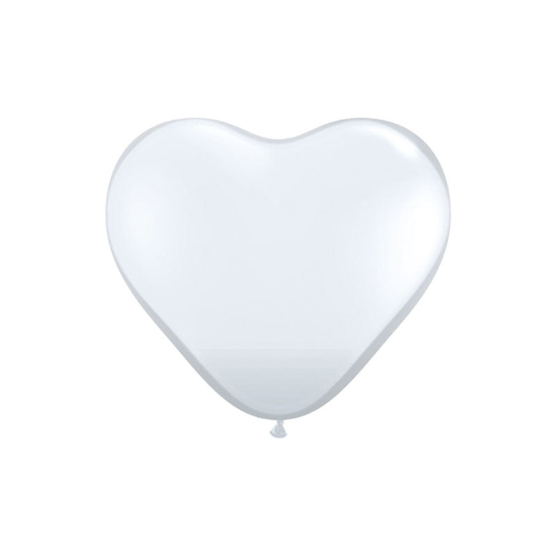 Giant Clear Heart Balloons 3ft  Giant Round Latex Balloon Hello Party Essentials - Hello Party