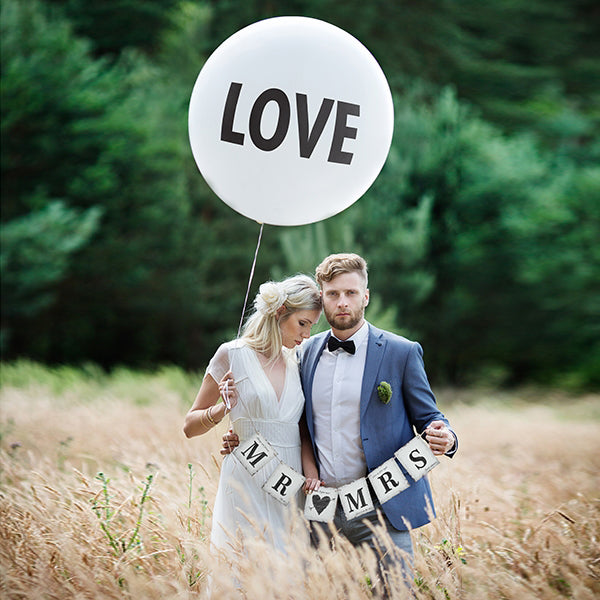 Giant LOVE Wedding Balloon (1 metre)
