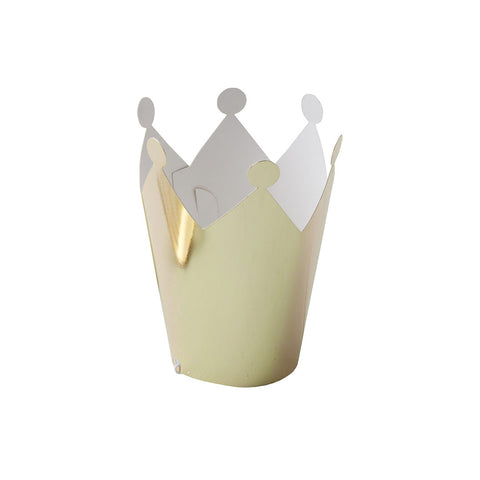 Gold Metallic Mini Party Crown