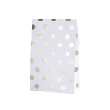 Gold Metallic Polka Dot Party Bags