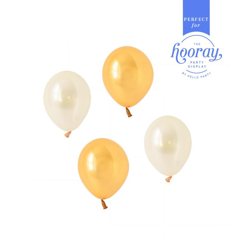 Glamorous Gold Balloons Hooray Party Display Contents Pack  Fillable Cake Stand Content Packs Hello Party - Hello Party
