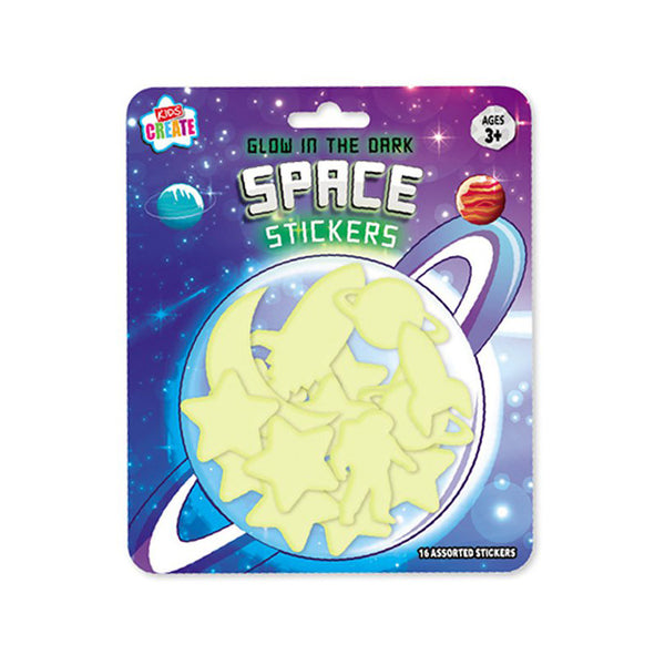 Glow in the Dark Space Shapes  Party Favour Hello Party - Hello Party