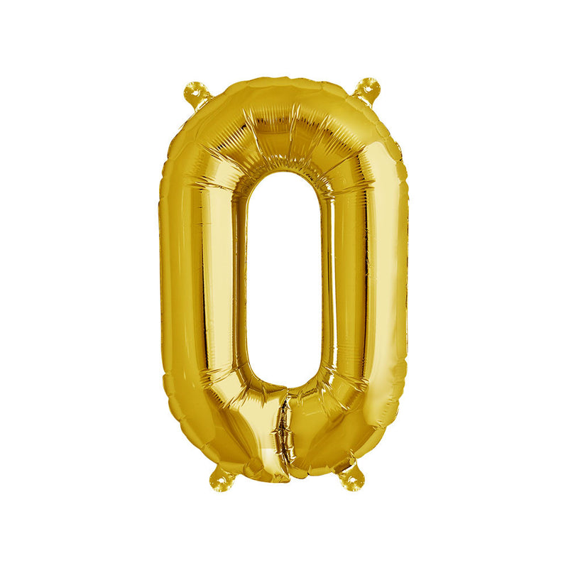 16 inch Gold Letter O Foil Balloon